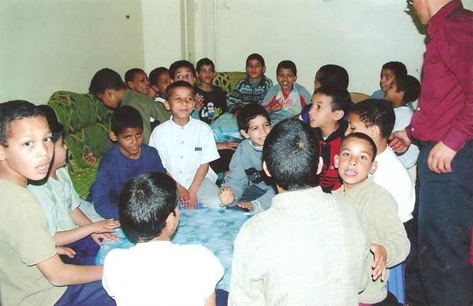 استضافة أطفال الخيرية الإسلامية (من الأرشيف)