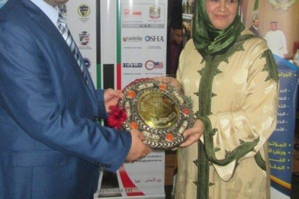 تكريم رائد التدريب العربي الدكتور جمال السعيدي