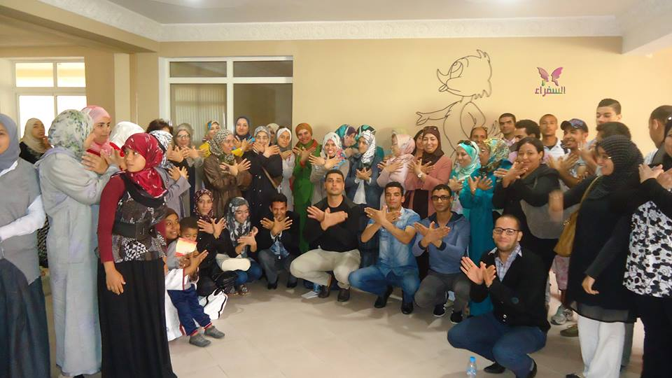 دورة تدريبية لمساعدة الدكتور ابراهيم الفقي فاطمة الزهراء عبدو